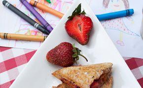 Tosty truskawkowe na Dzień Dziecka