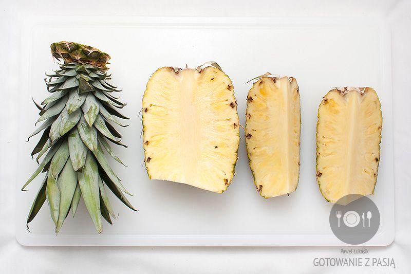 Filetowanie ananasa
