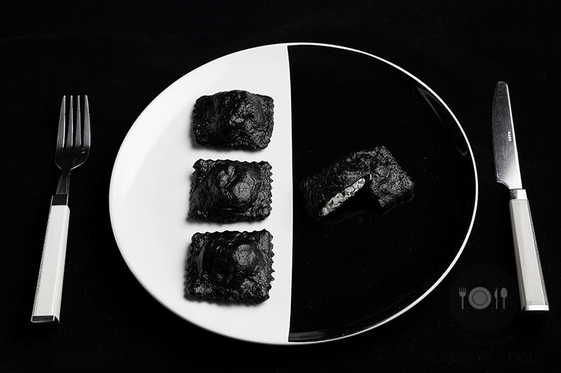 Black&White Ravioli
