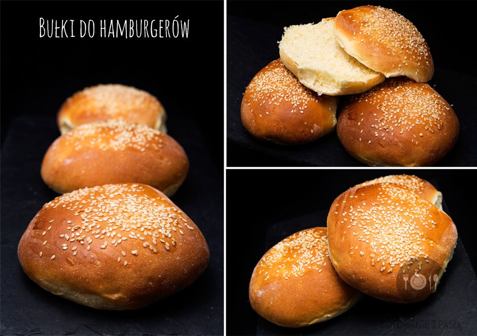 Bułki do hamburgerów