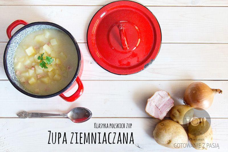 Zupa Ziemniaczana Z Boczkiem Blog Kulinarny Przepisy Kulinarne