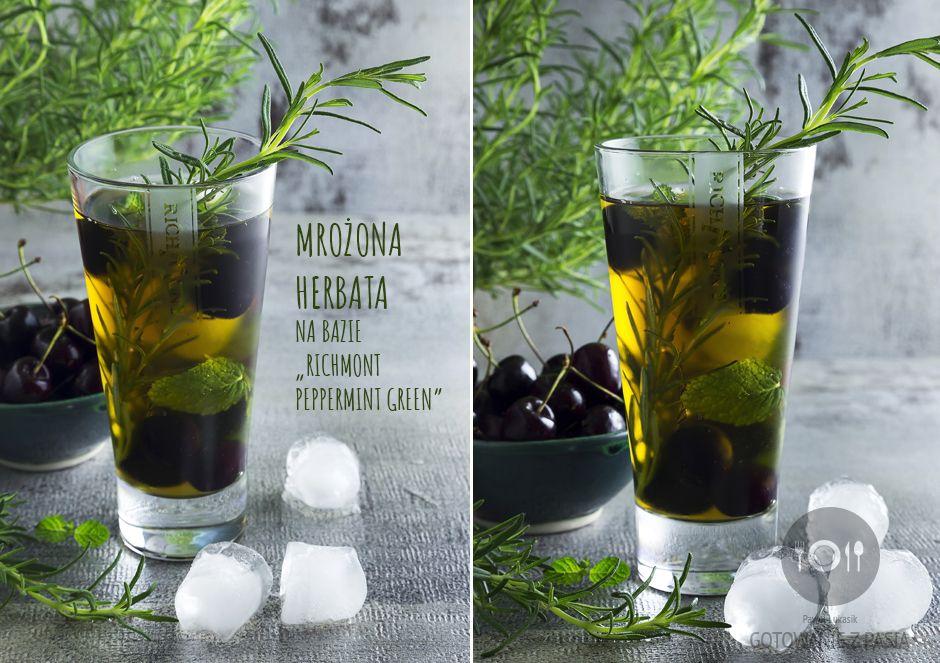 "Mrożona herbata na bazie ""Richmont Peppermint Green"""