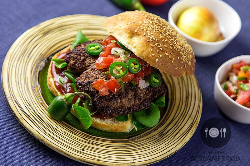 """Burger """"Pico de Gallo"""""""