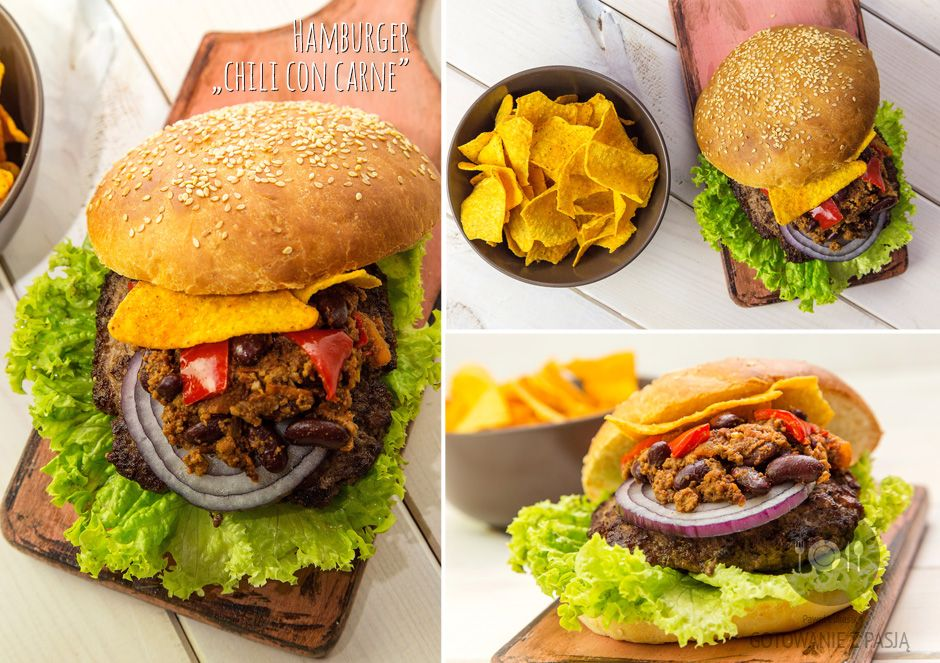 "Hamburger ""chili con carne"""