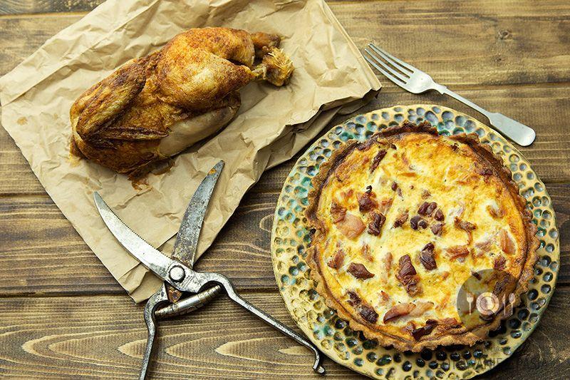 Tarta a'la kurczak z rożna